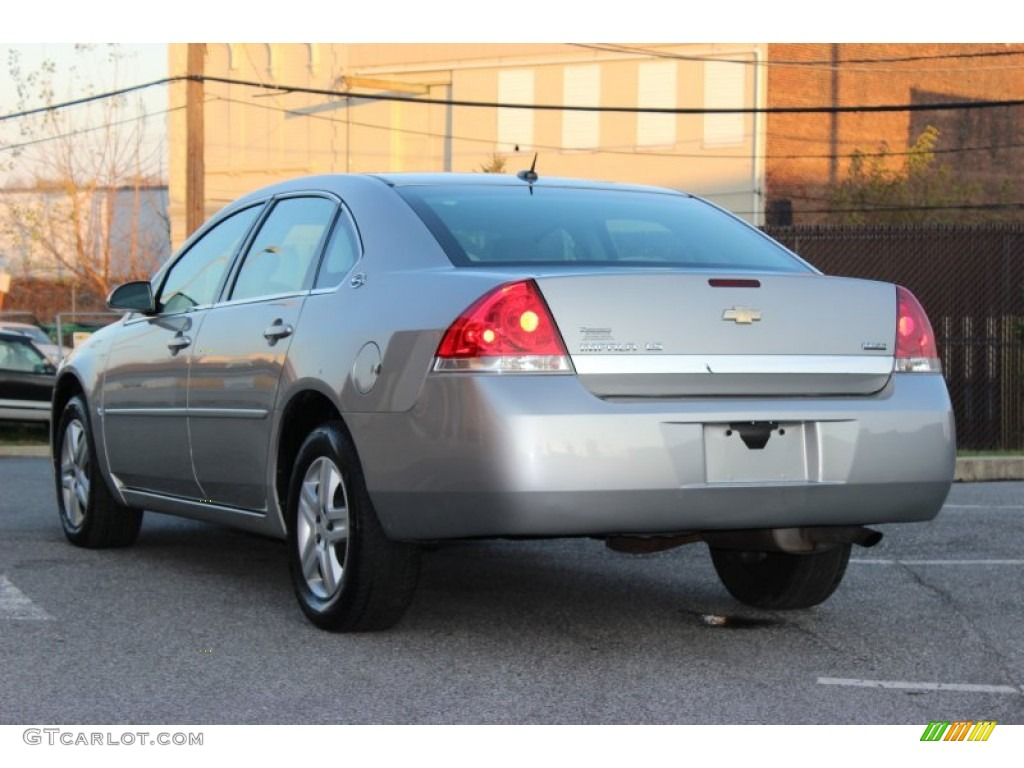Silverstone Metallic 2007 Chevrolet Impala Ls Exterior Photo 73971650