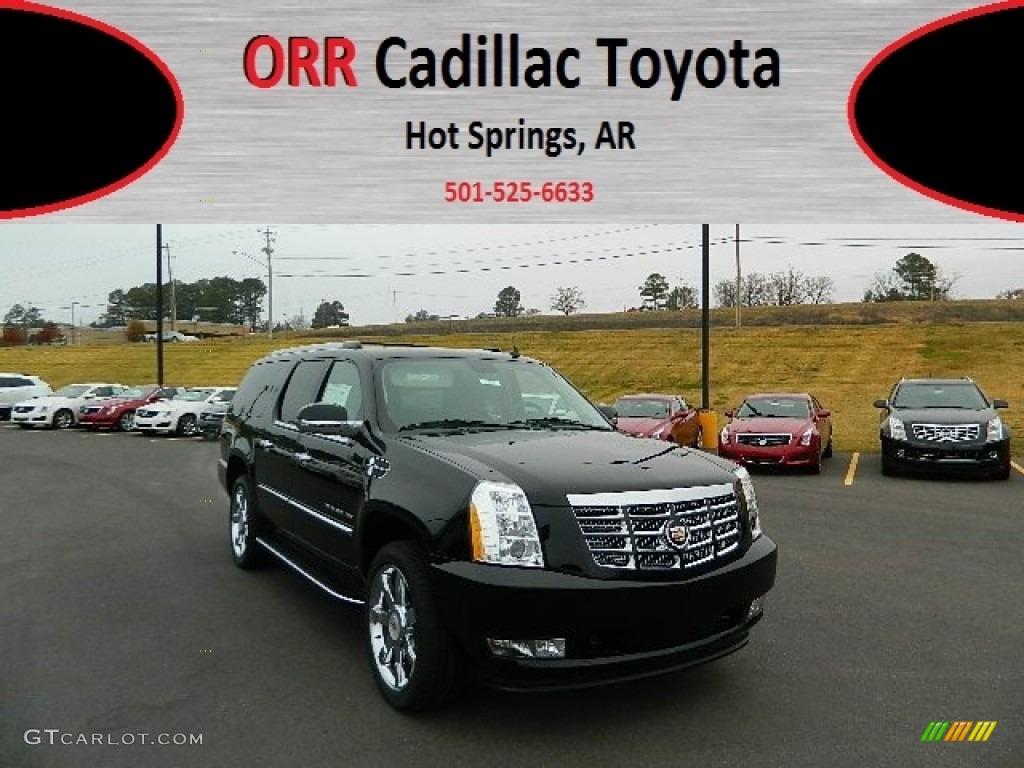2013 Cadillac Escalade ESV Luxury AWD - Black Raven Color / Ebony ...