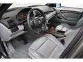 Grey 2006 BMW X5 Interiors