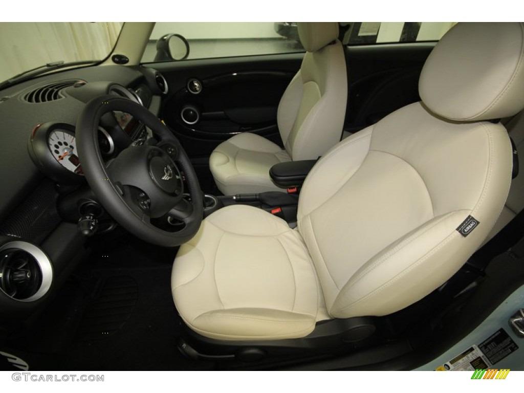 polar beige gravity leather interior 2013 mini cooper s. Black Bedroom Furniture Sets. Home Design Ideas