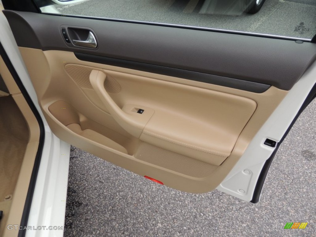 2006 Volkswagen Jetta 2 5 Sedan Pure Beige Door Panel Photo 73984841