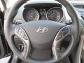 Black Steering Wheel Photo for 2013 Hyundai Elantra #73993542
