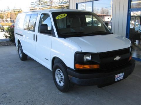 2004 chevrolet express 3500 cargo van data info and specs. Black Bedroom Furniture Sets. Home Design Ideas
