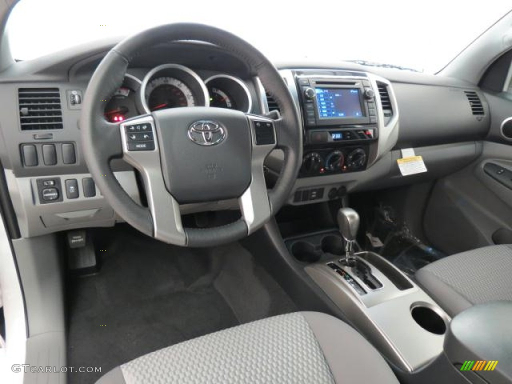 Graphite Interior 2013 Toyota Tacoma Access Cab Photo 73995144