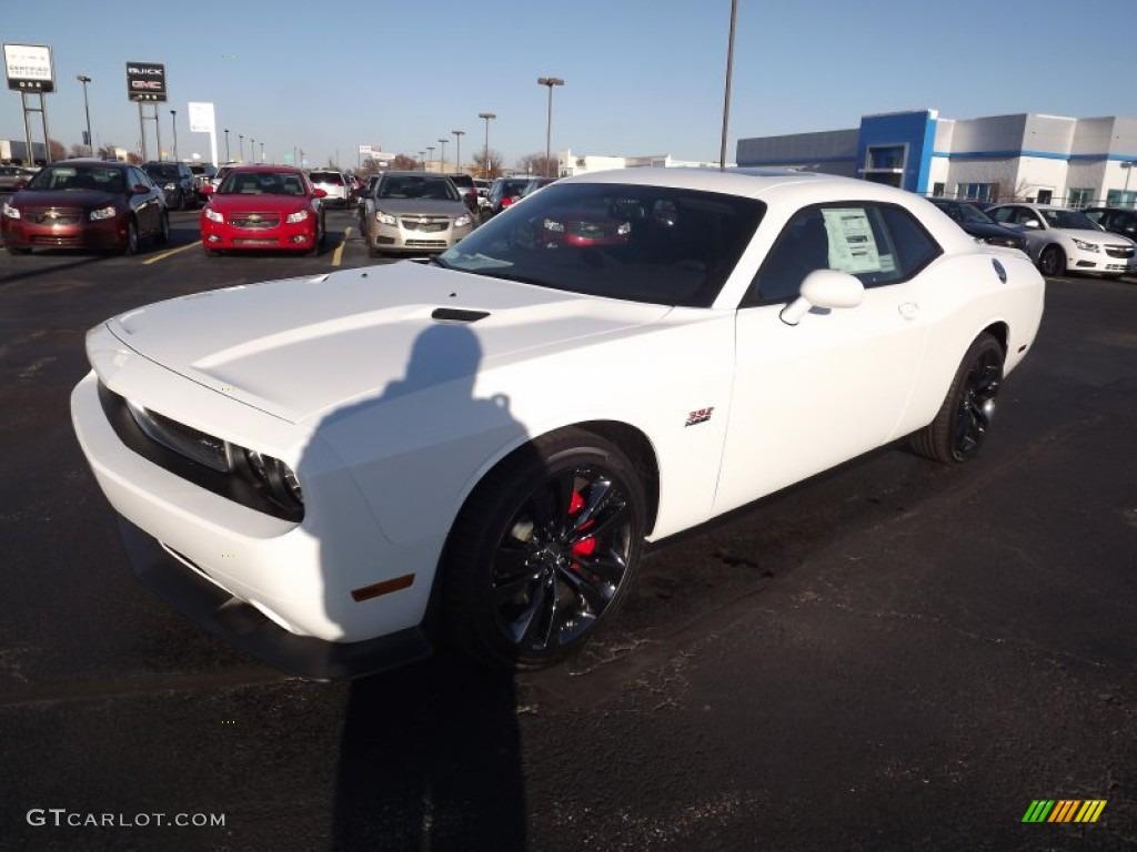 2013 Bright White Dodge Challenger SRT8 392 #73989297 ...