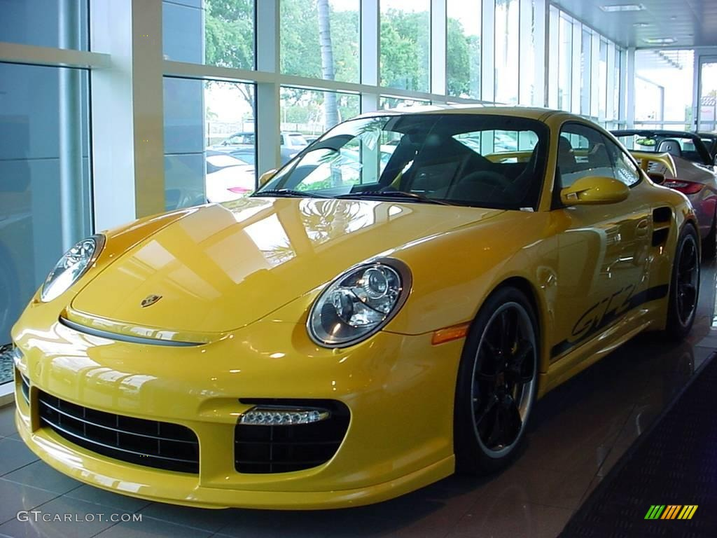 2009 speed yellow porsche 911 gt2 7390379 car color galleries. Black Bedroom Furniture Sets. Home Design Ideas