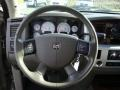 2008 Dodge Ram 3500 Khaki Interior Steering Wheel Photo