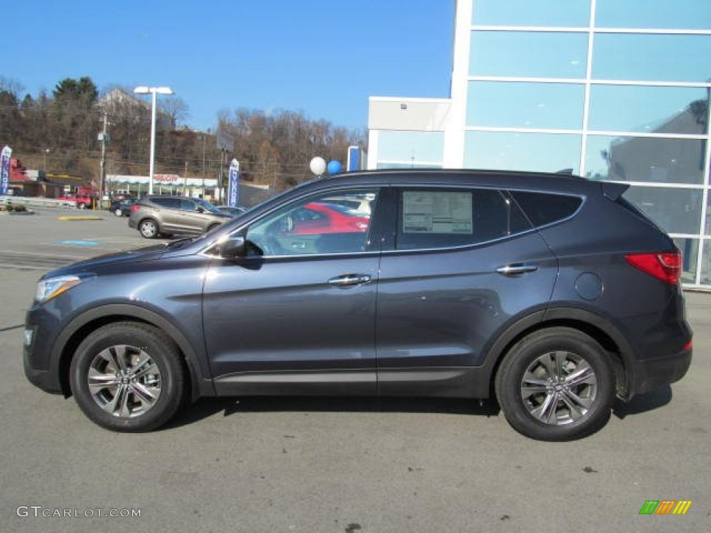 marlin blue 2013 hyundai santa fe sport awd exterior photo 74011960. Black Bedroom Furniture Sets. Home Design Ideas