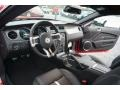 2013 Ford Mustang Charcoal Black/Cashmere Accent Interior Prime Interior Photo