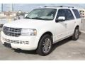 White Chocolate Tri-Coat 2007 Lincoln Navigator Luxury Exterior