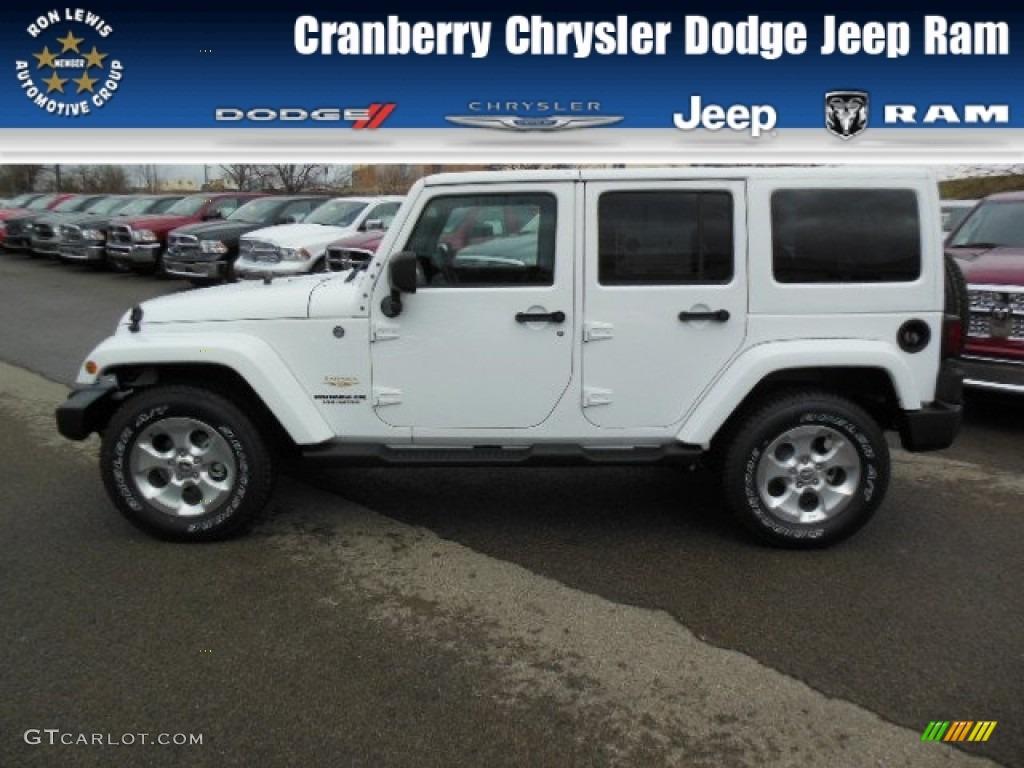Jeep Wrangler Unlimited Sahara White