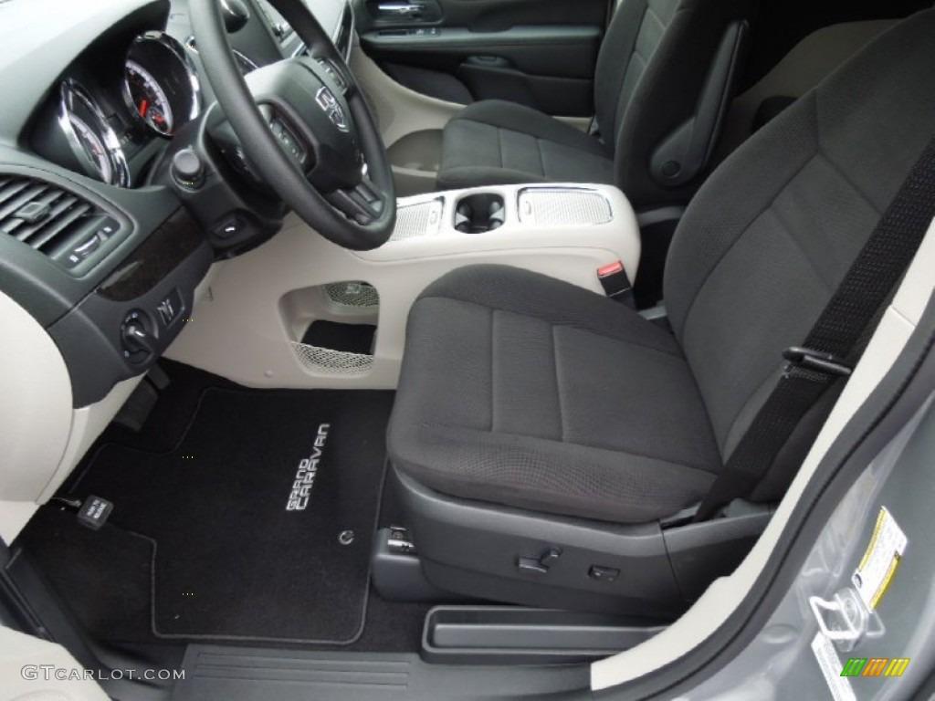 Black Light Graystone Interior 2013 Dodge Grand Caravan Sxt Photo 74025171