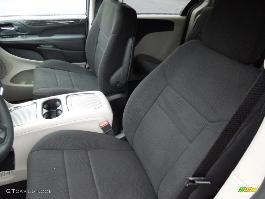 Black Light Graystone Interior 2013 Dodge Grand Caravan Sxt Photo 74025189