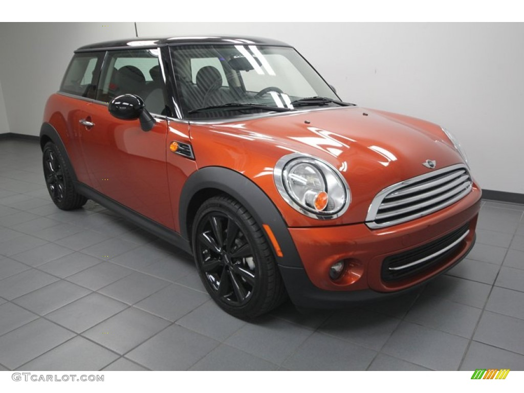 2012 spice orange metallic mini cooper hardtop 73989358 car color galleries. Black Bedroom Furniture Sets. Home Design Ideas