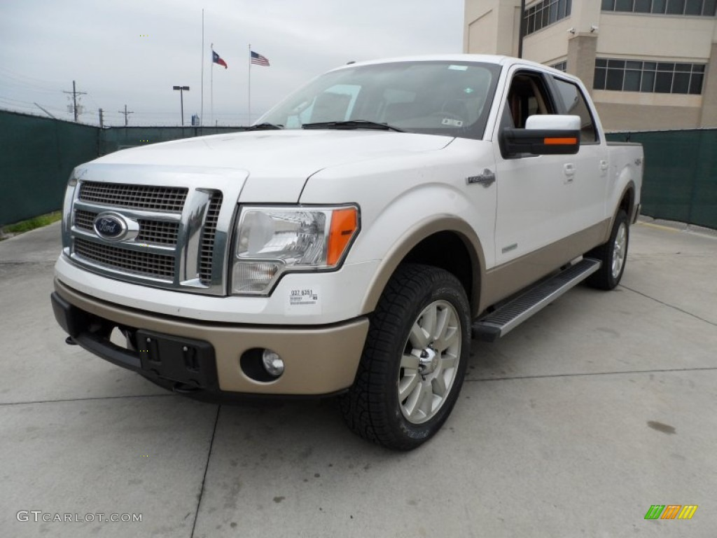 2012 ford f150 king ranch supercrew 4x4 exterior photos. Black Bedroom Furniture Sets. Home Design Ideas