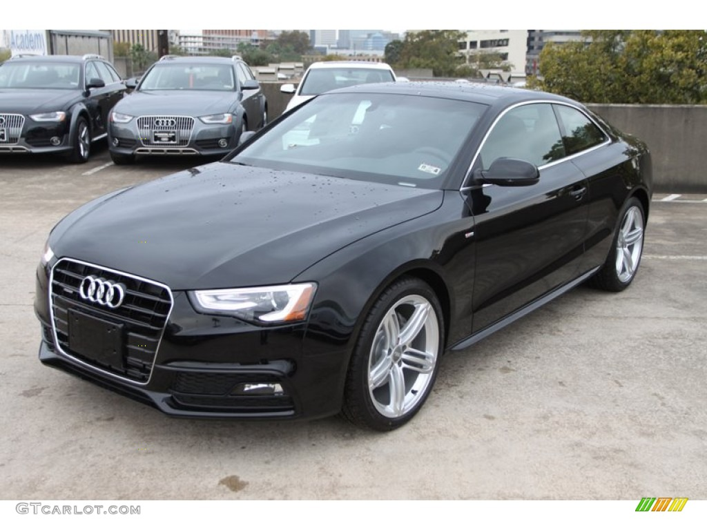Brilliant Black 2013 Audi A5 2 0t Quattro Coupe Exterior