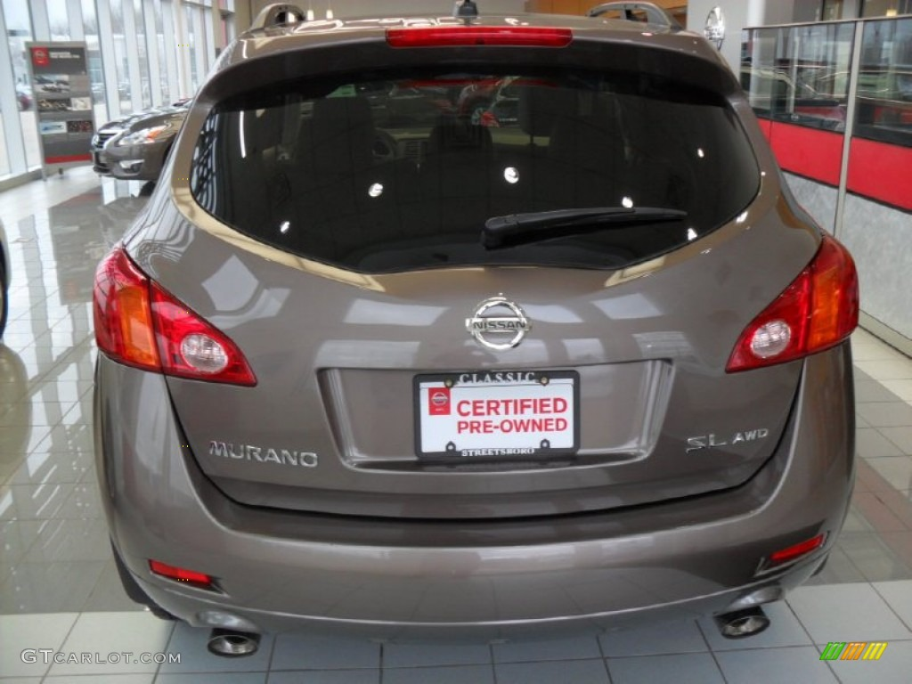 2010 Murano SL AWD - Tinted Bronze Metallic / Beige photo #4