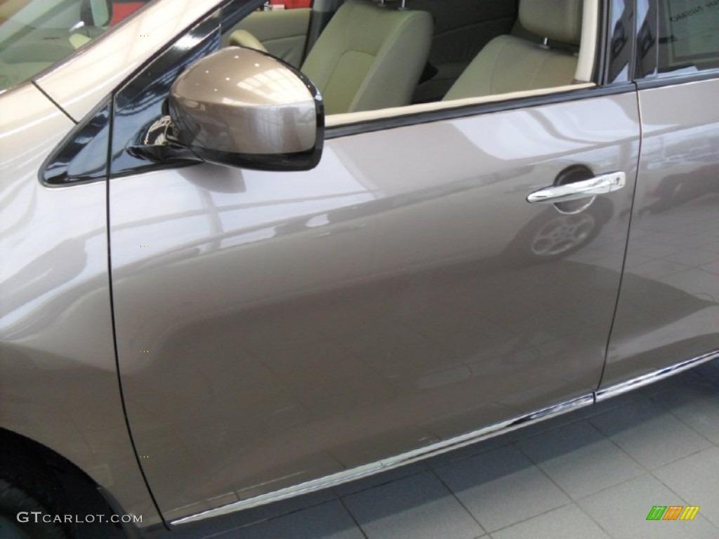 2010 Murano SL AWD - Tinted Bronze Metallic / Beige photo #5