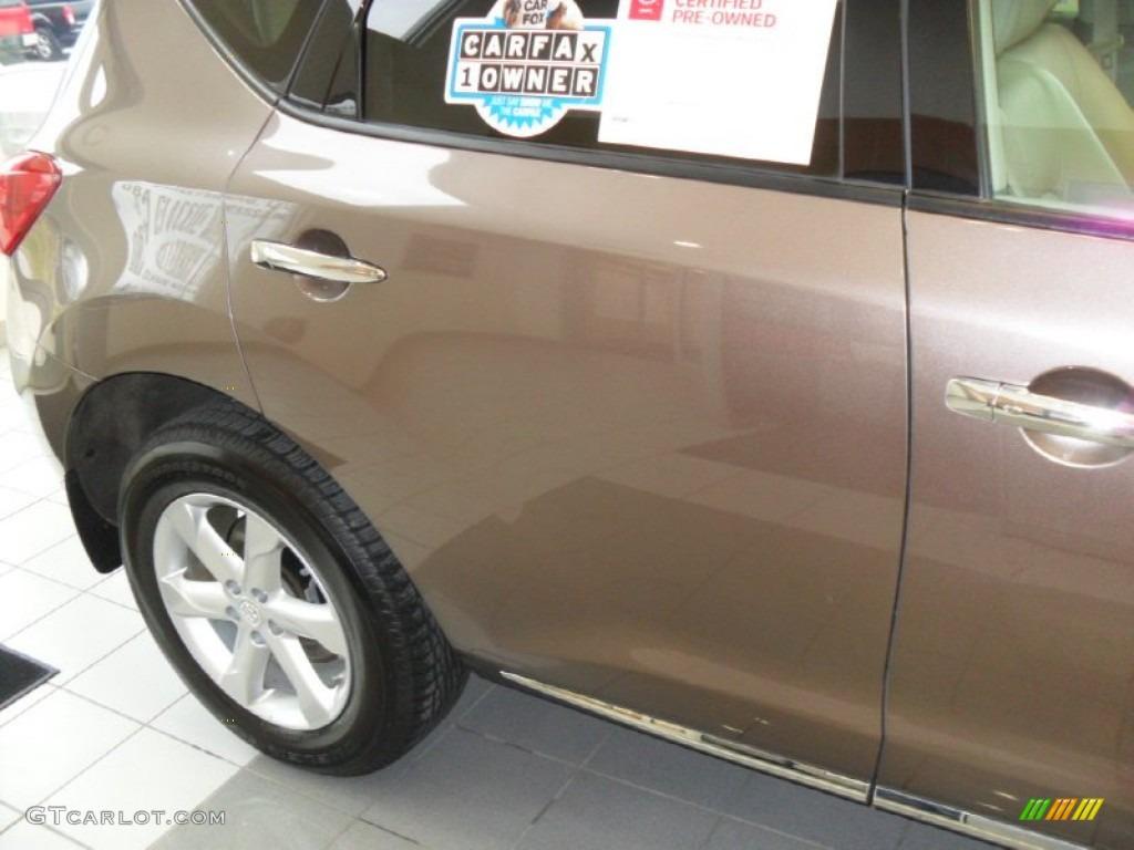 2010 Murano SL AWD - Tinted Bronze Metallic / Beige photo #7