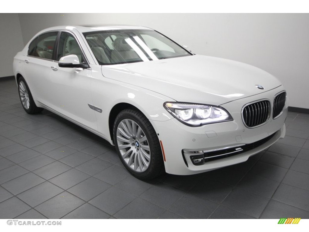 alpine white 2013 bmw 7 series 740li sedan exterior photo 74033355. Black Bedroom Furniture Sets. Home Design Ideas