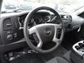 Ebony Steering Wheel Photo for 2013 Chevrolet Silverado 1500 #74034627