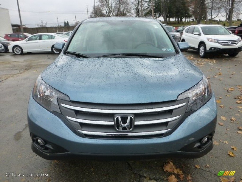 Mountain Air Metallic 2013 Honda Cr V Ex Awd Exterior Photo 74035033