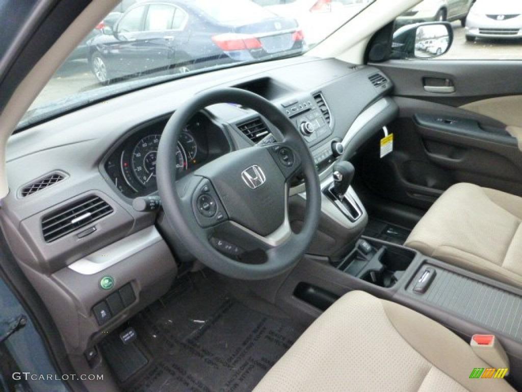 Beige interior 2013 honda cr v ex awd photo 74035128 for Honda cr v 2013 interior