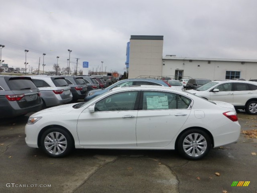 2013 Accord Touring Sedan   White Orchid Pearl / Ivory Photo #1