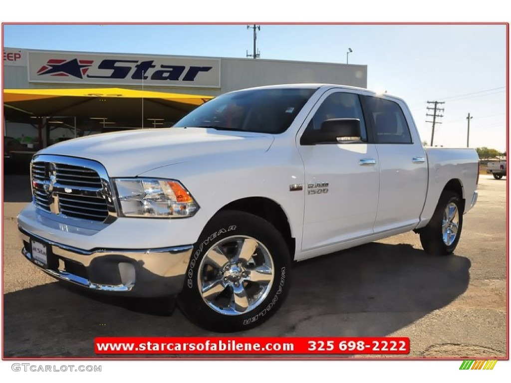 2013 bright white ram 1500 big horn crew cab 73989330 car color galleries. Black Bedroom Furniture Sets. Home Design Ideas