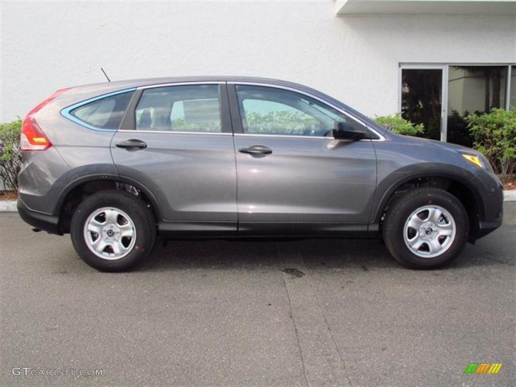Polished Metal Metallic 2013 Honda Cr V Lx Exterior Photo 74054048