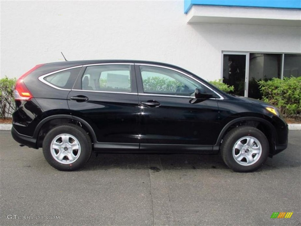 Crystal Black Pearl 2013 Honda Cr V Lx Exterior Photo 74054385