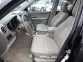 Front Seat of 2011 Grand Vitara Limited
