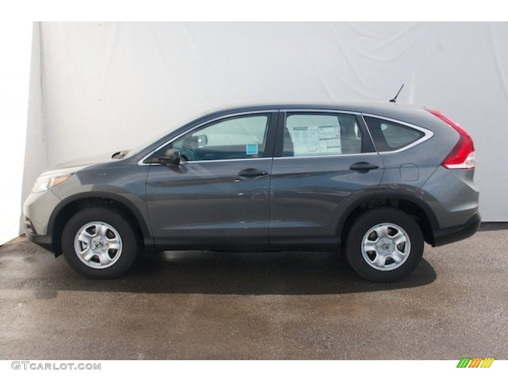 Polished Metal Metallic 2013 Honda Cr V Lx Exterior Photo 74056431