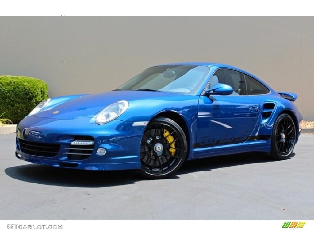 Aqua Blue Metallic 2011 Porsche 911 Turbo S Coupe Exterior Photo 74057216 Gtcarlot Com