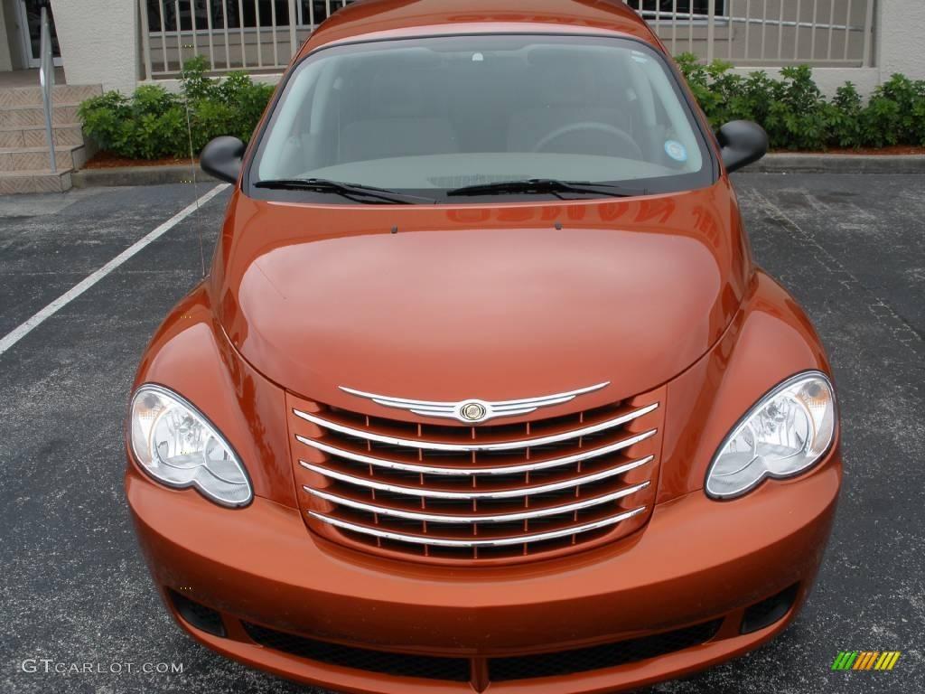 Tangerine Pearl Chrysler PT Cruiser