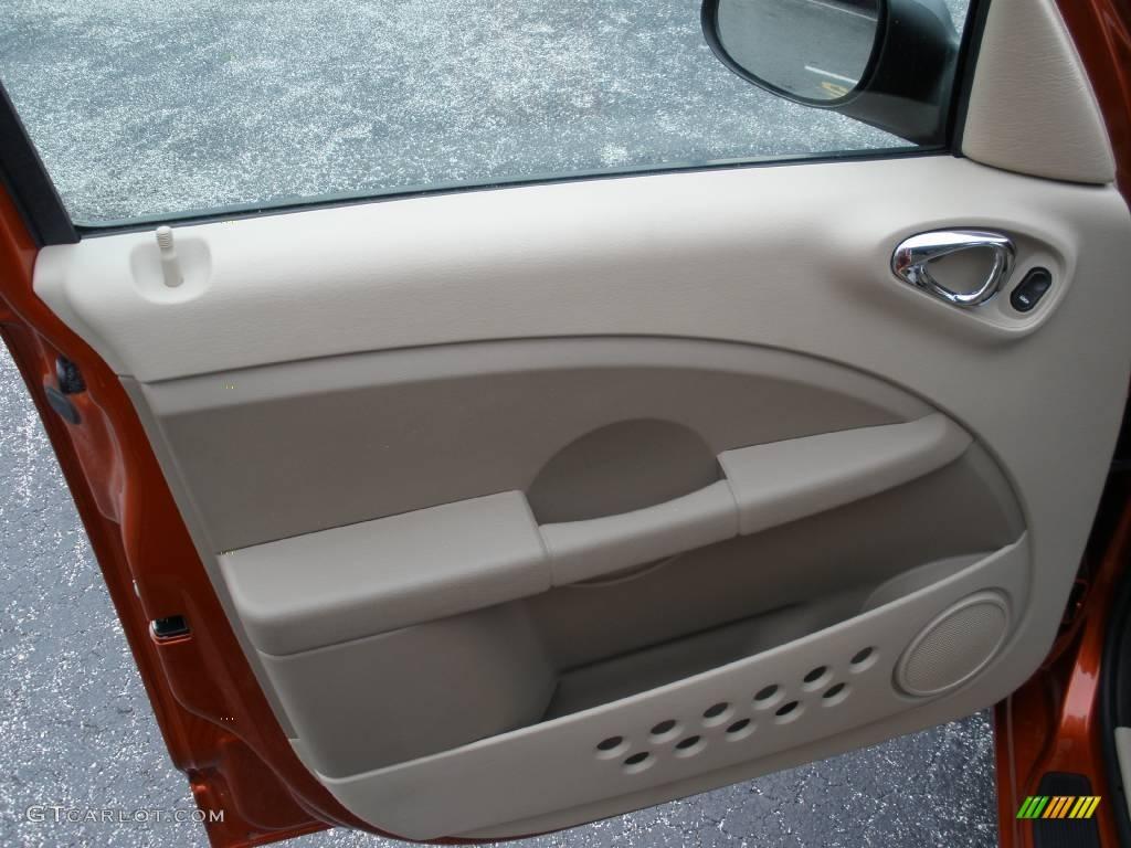 2007 PT Cruiser Touring - Tangerine Pearl / Pastel Pebble Beige photo #10