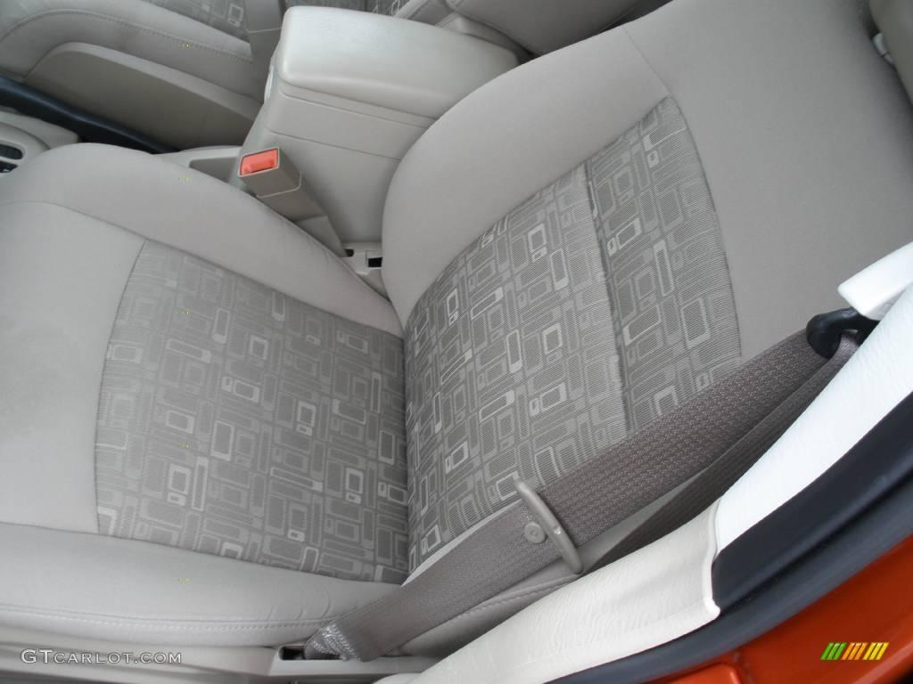 2007 PT Cruiser Touring - Tangerine Pearl / Pastel Pebble Beige photo #11