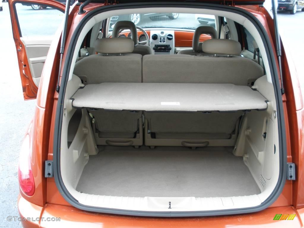 2007 PT Cruiser Touring - Tangerine Pearl / Pastel Pebble Beige photo #13