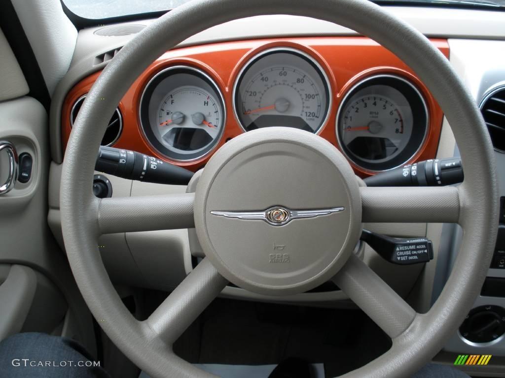 2007 PT Cruiser Touring - Tangerine Pearl / Pastel Pebble Beige photo #20