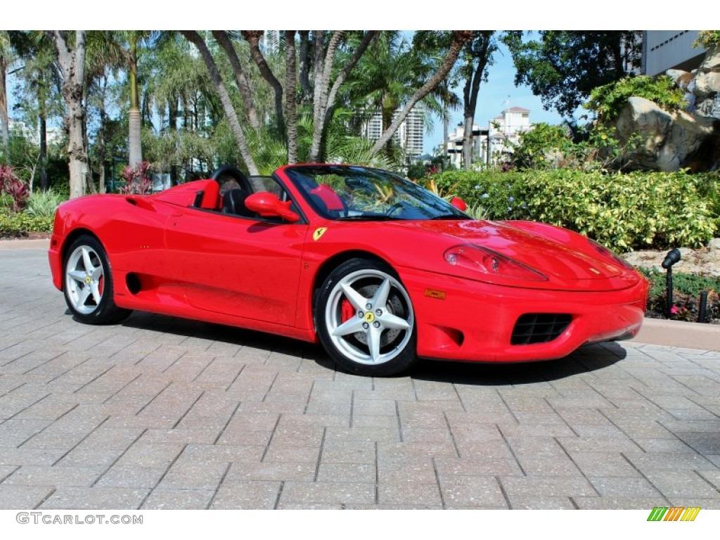 Red 2003 Ferrari 360 Spider Exterior Photo 74069104
