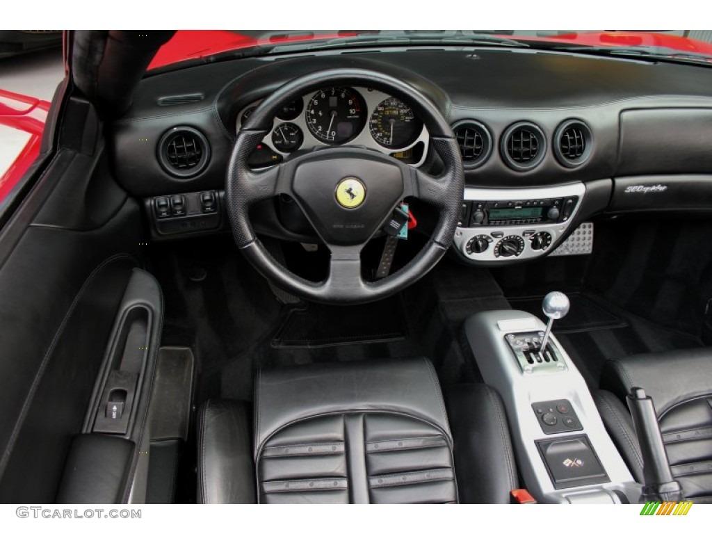 2003 Ferrari 360 Spider Nero Black Dashboard Photo