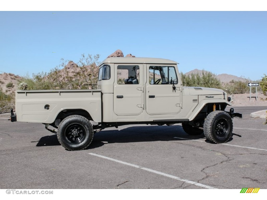 Beige 1963 Toyota Land Cruiser Fj45 Pickup Tlc Restomod Exterior Photo 74079968