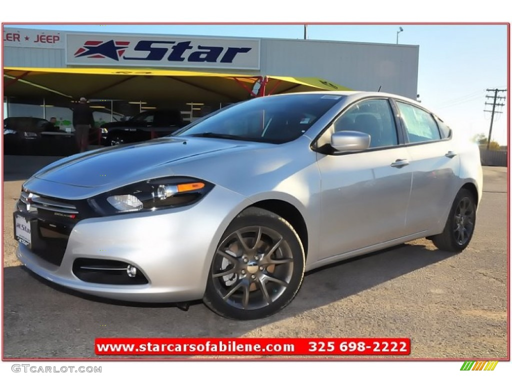 2013 bright silver metallic dodge dart rallye 74039832. Black Bedroom Furniture Sets. Home Design Ideas