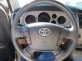 2010 Toyota Tundra Red Rock Interior Steering Wheel Photo