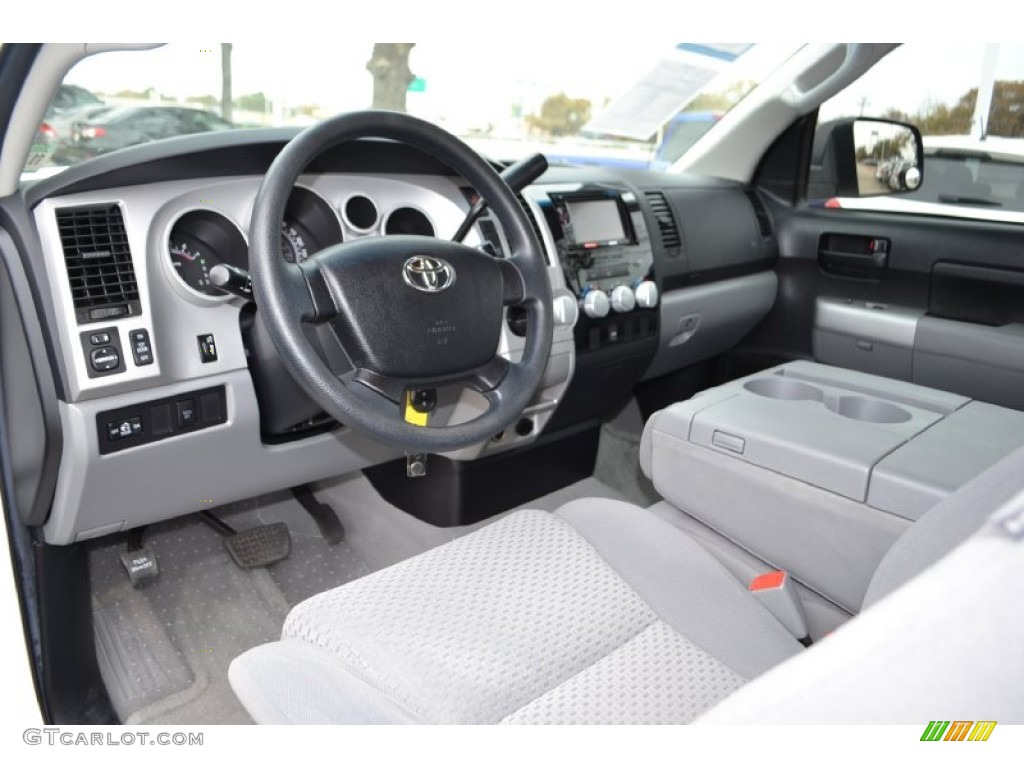 graphite gray interior 2007 toyota tundra sr5 regular cab photo 74093351