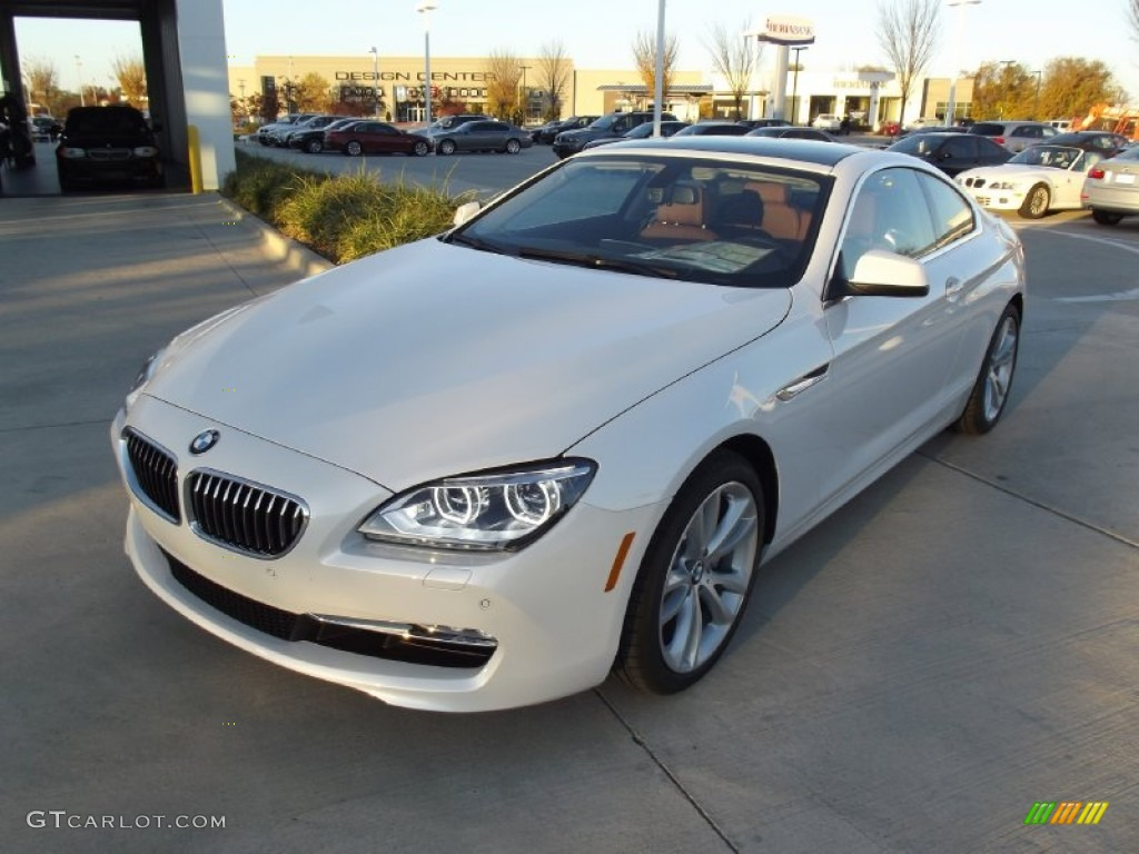 2013 Mineral White Metallic Bmw 6 Series 640i Coupe