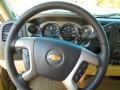 2013 Chevrolet Silverado 1500 Light Cashmere/Dark Cashmere Interior Steering Wheel Photo