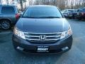 Smoky Topaz Metallic 2011 Honda Odyssey Touring Elite