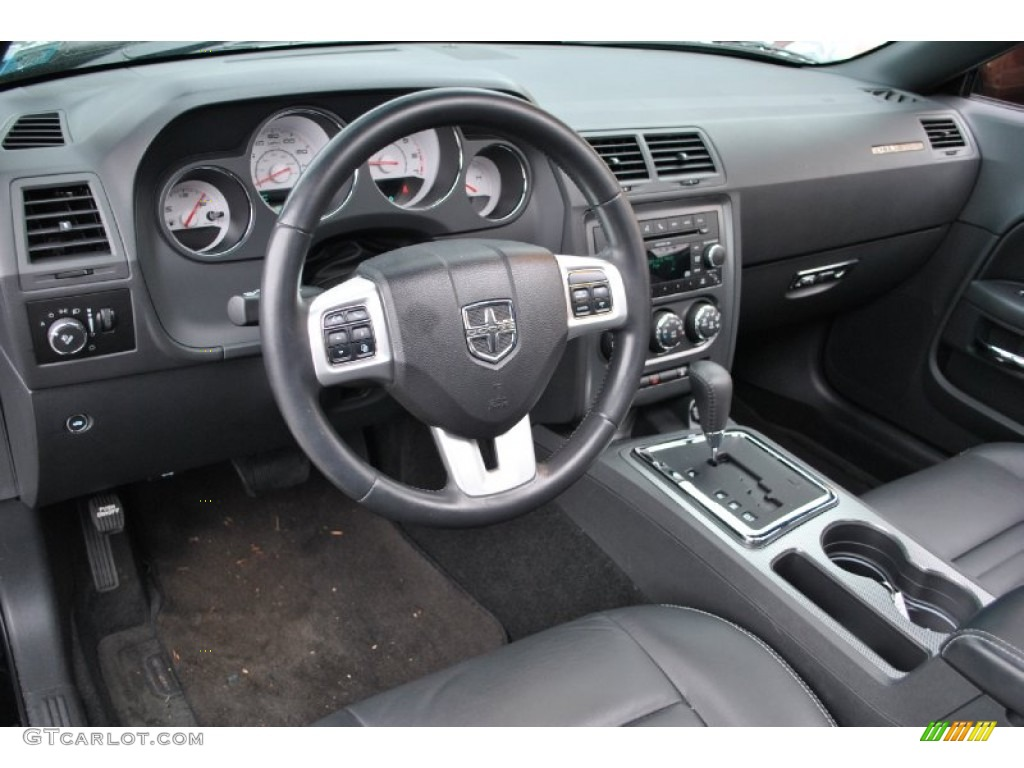 2011 Dodge Challenger R T Plus Interior Color Photos