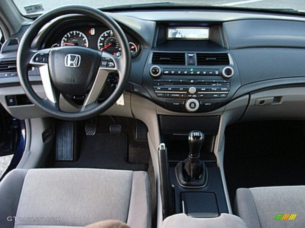 2008 Honda Accord Lx P Sedan Gray Dashboard Photo